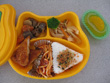 お弁当給食 やまき給食(金) 金曜日はお弁当・給食のどちらかを選択します。