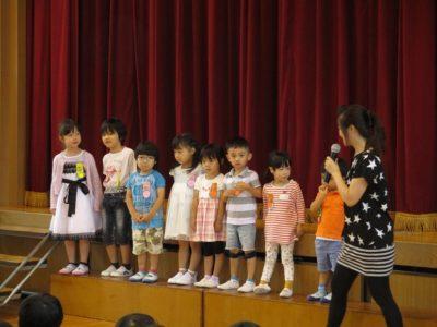 7月生まれのお友達は8人でした。
