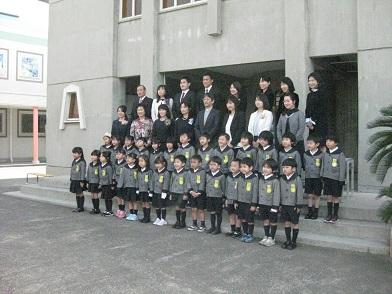先生達と一緒に記念写真を撮りました。