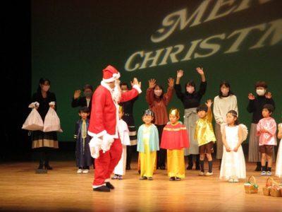 最後はサンタさん登場!喜ぶ子ども達でした。