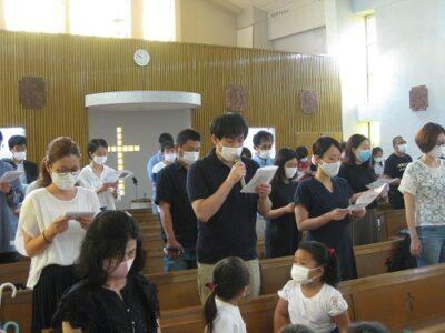 満3才・年少の保護者の皆様の共同祈願