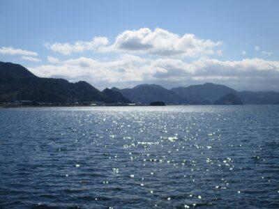 青くてキラキラした海は、とても美しかったです。